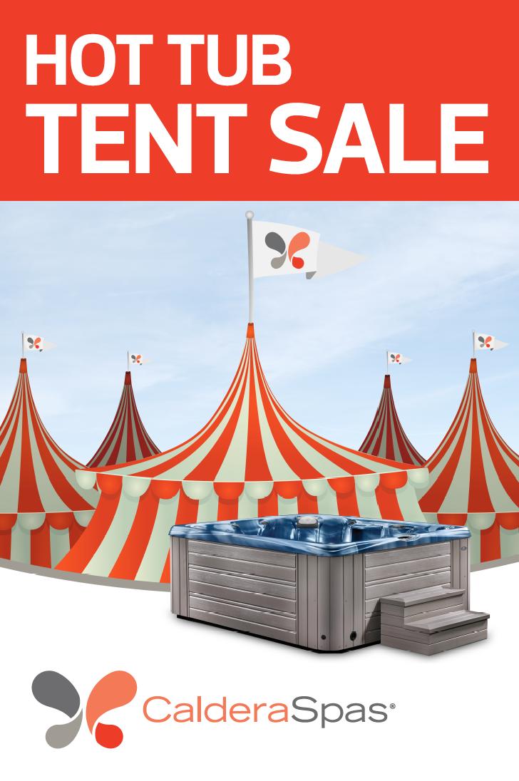 Caldera Hot Tub Tent Sale