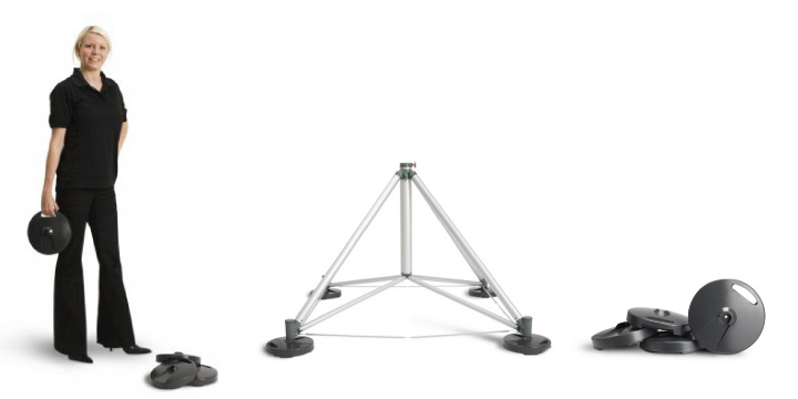 Expand Flagstand Xl Outdoor Banner Stand